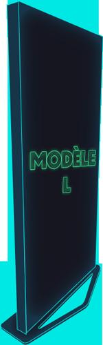 Kakémono - modèle L