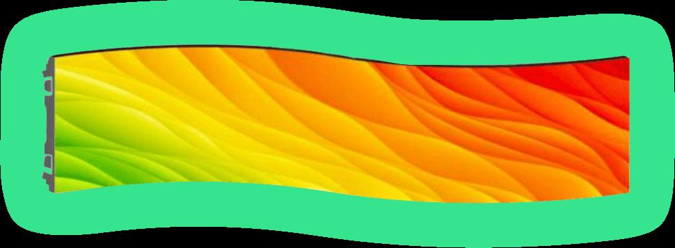 Phoceamedia Systèmes de dalles incurvées